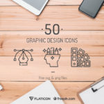 50 High-Quality Graphic Design Icons (SVG, PNG)