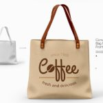 Canvas Bags Mockup (3 Views, PSD)