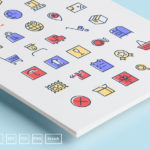 Checkout and Delivery Icons (35 Icons, AI, EPS, SVG, Sketch, PSD, PNG)