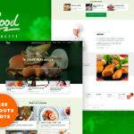 Restaurant Food UI Design Concept for Sketch