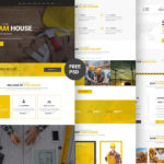 Structure – Construction Website Template (PSD)