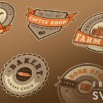 Free Vintage Logo Badges (6 Logos, SVG)
