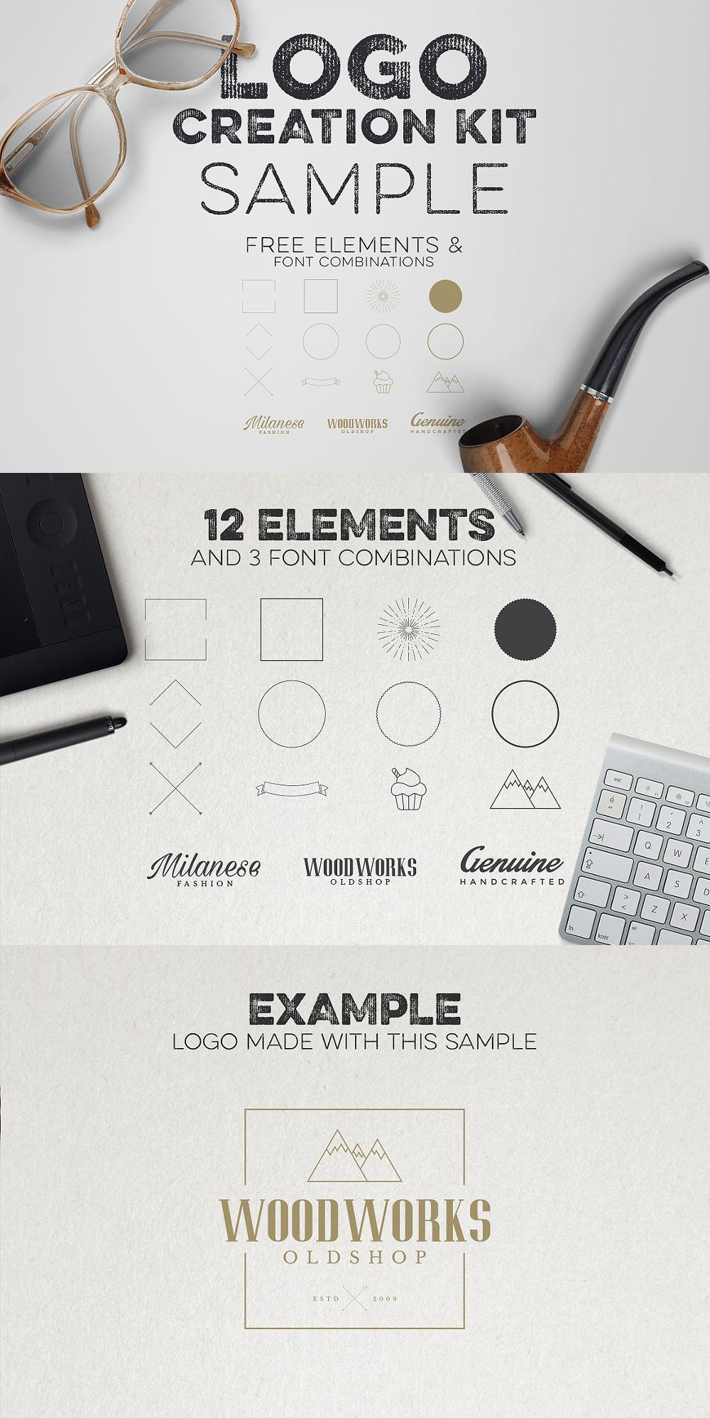 Logo Creation Kit - Free Sample