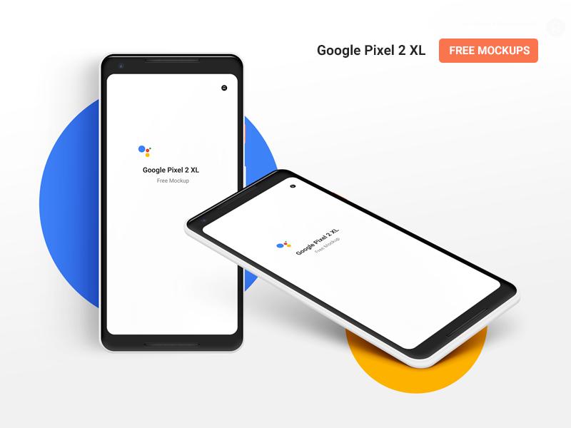 Google Pixel 2 XL Mockup