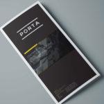 Free Tri-Fold Brochure Template (PSD)