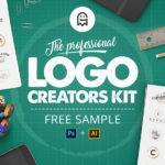 The Professional Logo Creators Kit – Free Sample (AI, PSD)