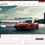 Car Showroom Web Design Template