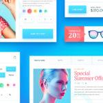 Free eCommerce UI Kit (PSD)