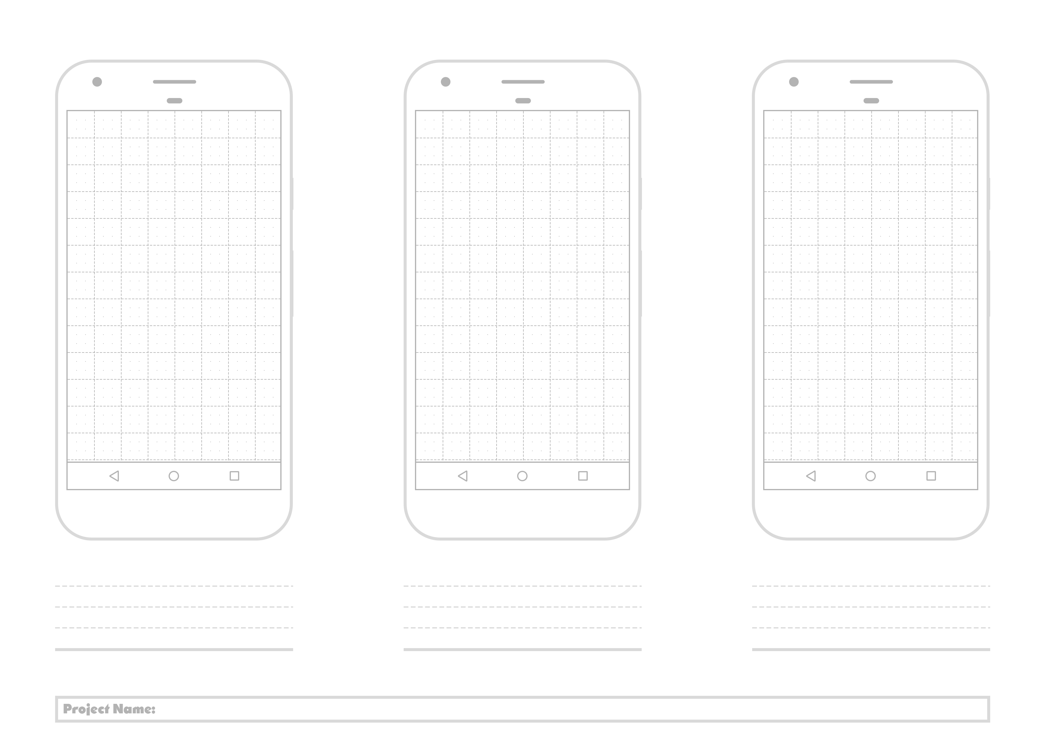 Free Printable Google Pixel Template