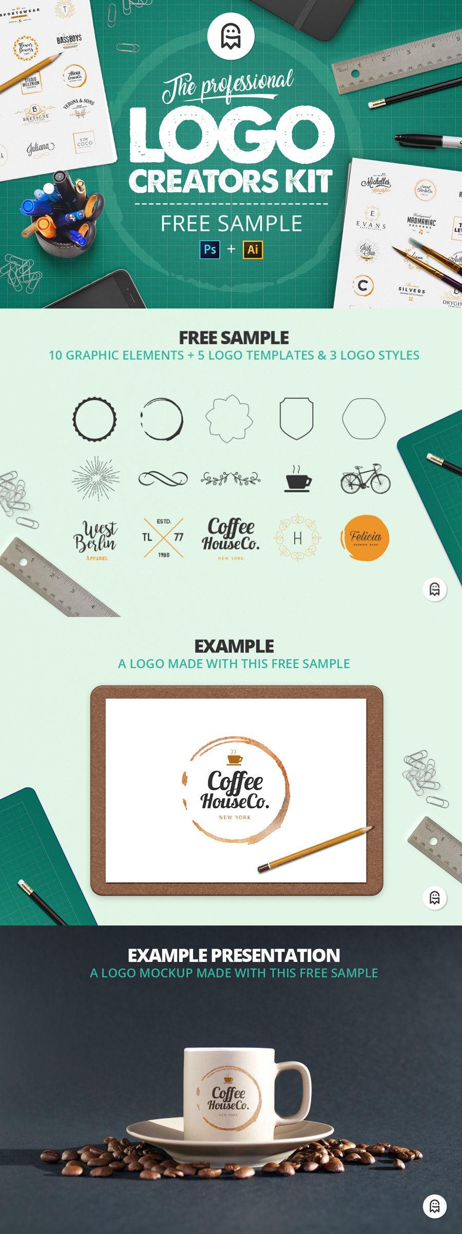 The Professional Logo Creators Kit Free Sample