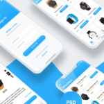 Morem Hiyaal – Free eCommerce iOS UI Kit