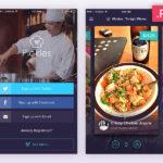 Restaurant App – Free PSD