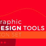 100 Graphic Design Tools Icons (SVG & PNG)