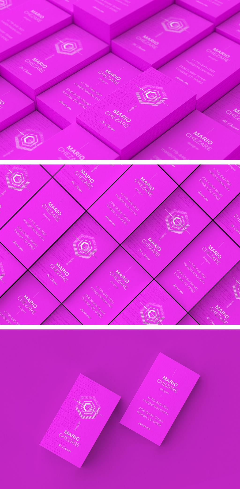 Chezare 3 - Business Card Template