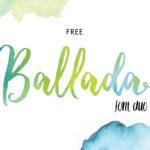 Free Ballada Font Duo