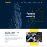 Counsel – Business Website PSD Template