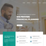 Finance – Consulting, Business Website Template (PSD)