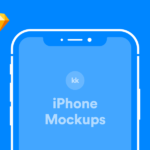 iPhone Mockups (iPhone X, 8, SE, Vector)