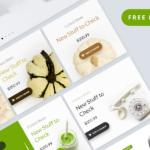 Nature Web UI Kit (PSD)