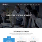 Razbin – Digital Agency Web Template (Free PSD)