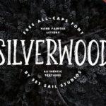 Free Silverwood Font