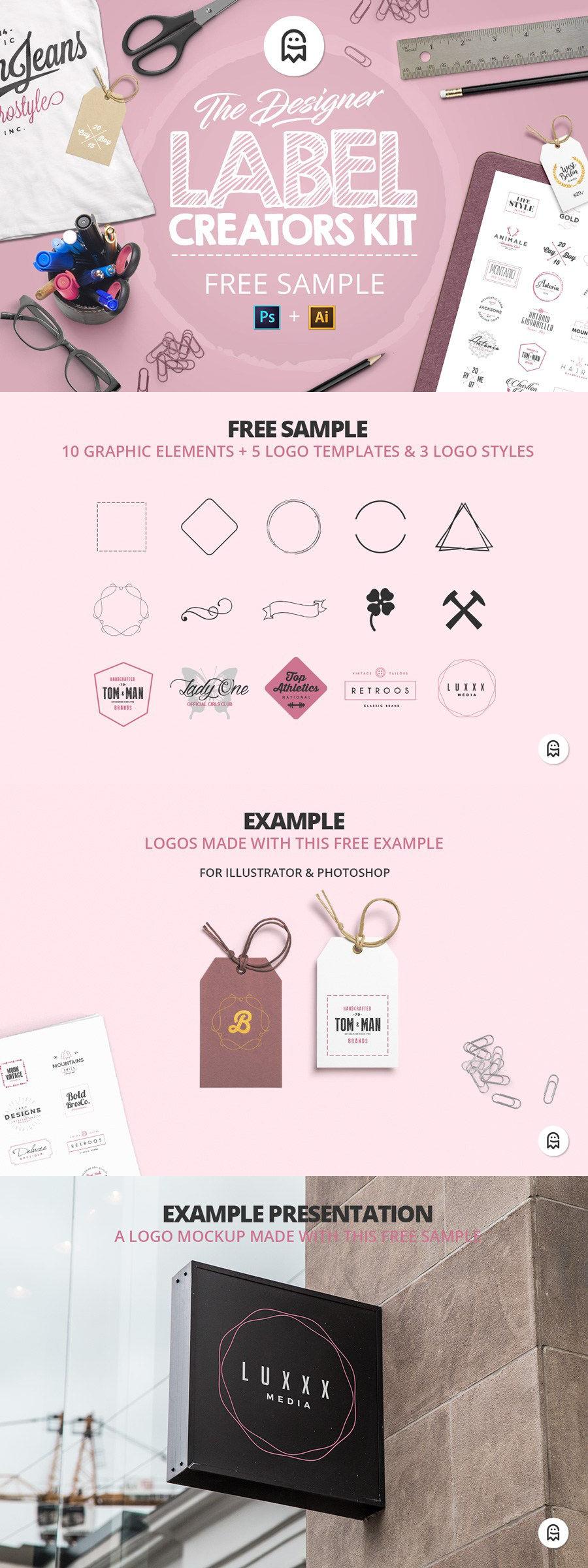 The Designer Label Creators Kit - Free Sample