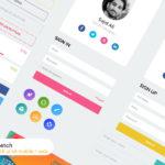 Mobile and Web UI Kit (Sketch)
