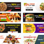 Free 13 Facebook Food Banner Templates