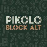 Pikolo Block Alt – Free Display Font
