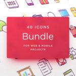 Free Web & Mobile Icons Bundle