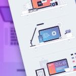 Free Designer Workspace Illustrations (AI, EPS, SVG, PNG)