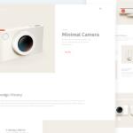 MinimaCam – Free Camera Landing Page PSD