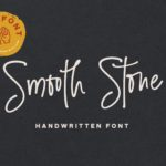 Smooth Stone – Free Handwritten Font