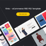FLINTO eCommerce PSD Template – Free Version