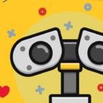 The Famous Robots Icon Set (20 Icons, AI, SVG & PNG)