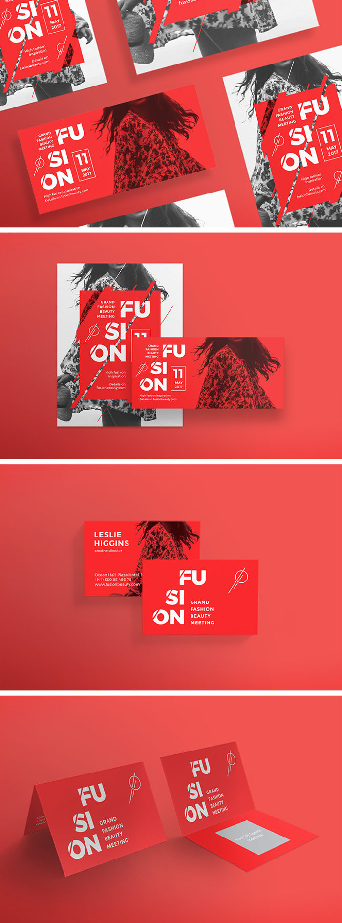 Flashing Red Templates Pack