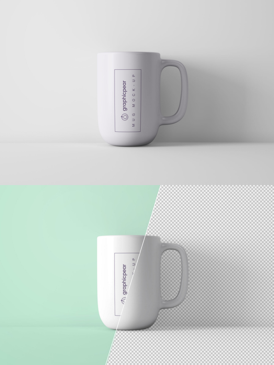 Free Minimal Coffee Mug PSD Mockup