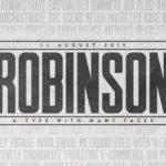 Robinson – Free Font