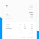 Free Invoice Template for Design Services (.Sketch)