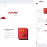Next – Agency Landing Page PSD Template