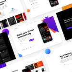 ShowTrackr – Free App Landing Page Template (Sketch)