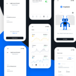 Crypto App – iOS UI Kit Freebie (Sketch)