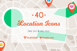 The Free Location Icon Set