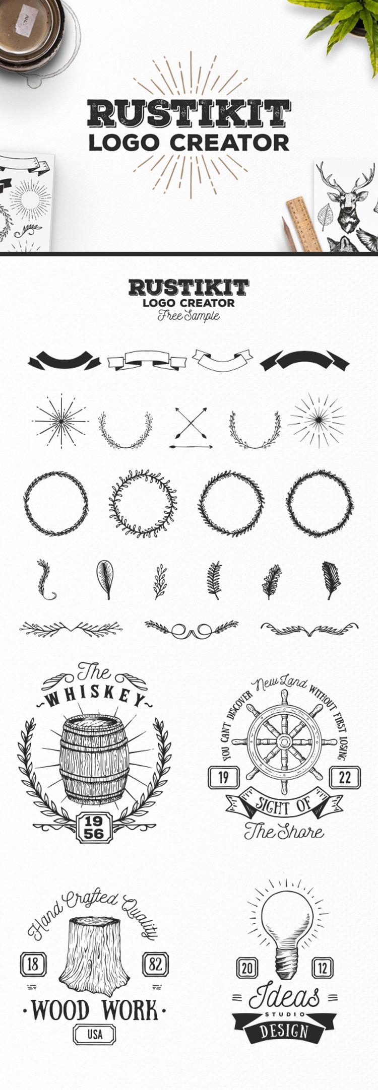 Rustikit Logo Creator - Free Sample