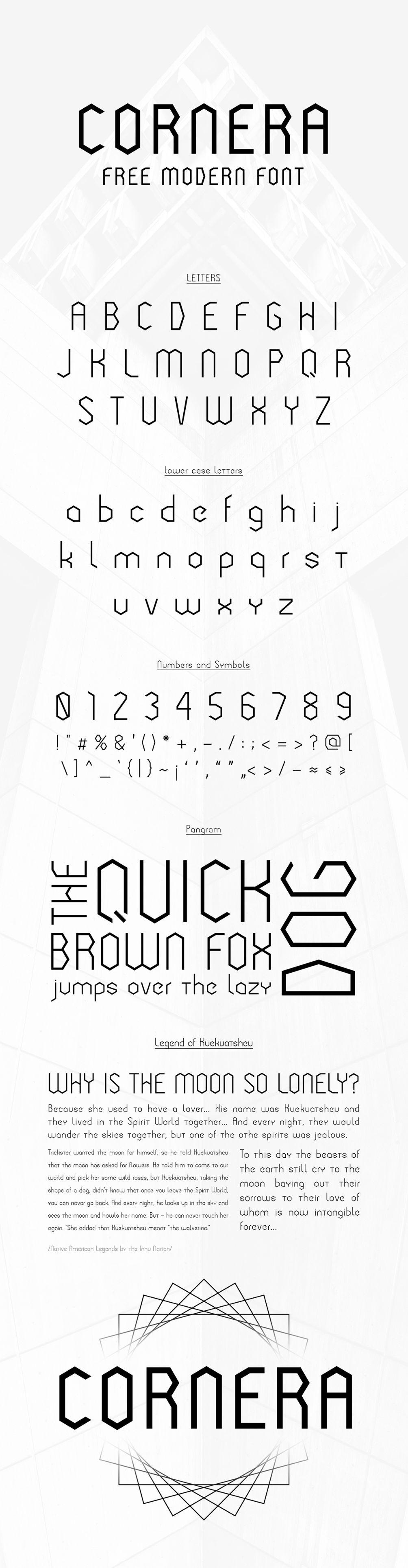 Cornera - Free Font