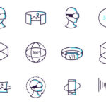 Augmented And Virtual Reality Icon Set
