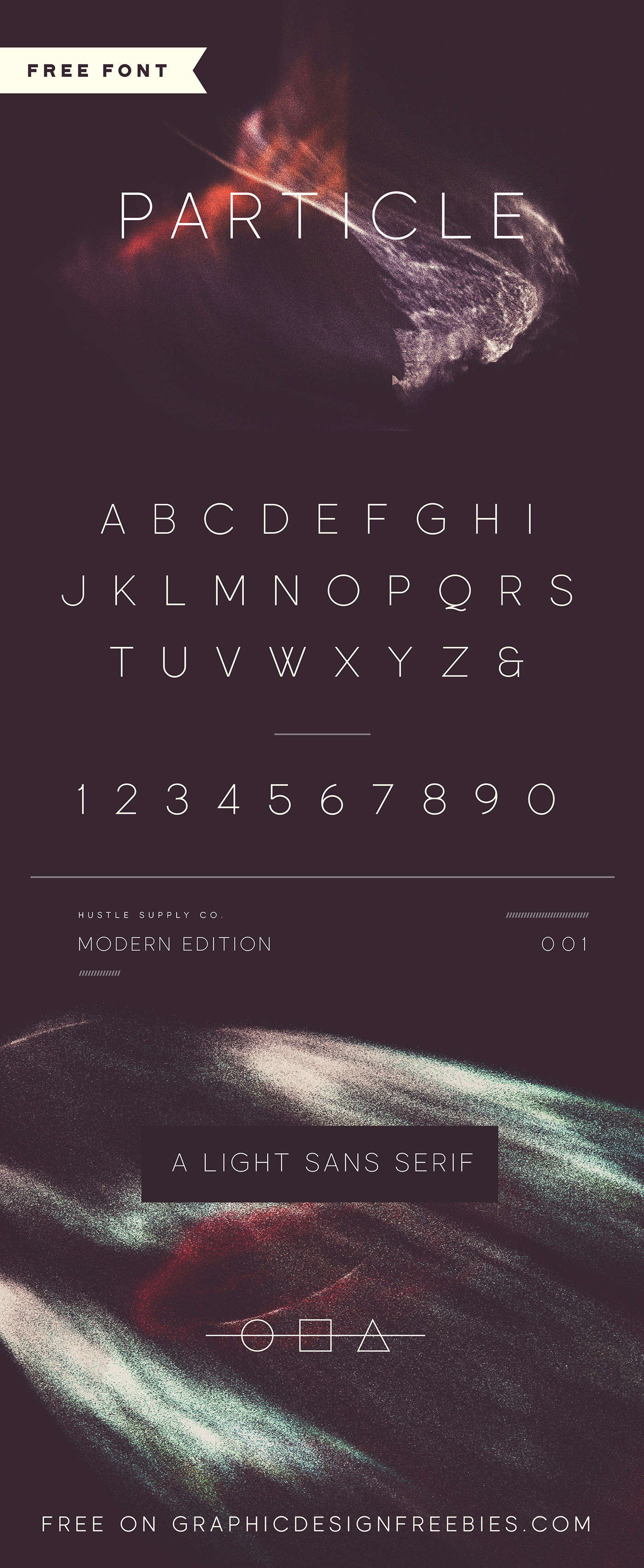 Particle - Free Font