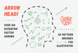 Arrow Head: Free Pattern Brushes & Vector Arrows