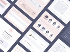 Free Pawtastic UI Kit for Adobe XD