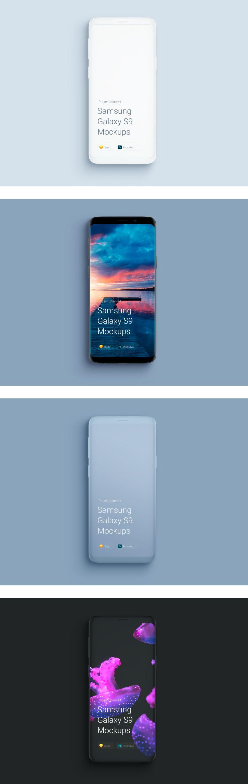 Free Samsung Galaxy S9 Mockup